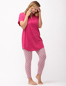 Printed legging PJ set