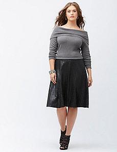 Off-shoulder Marilyn sweater