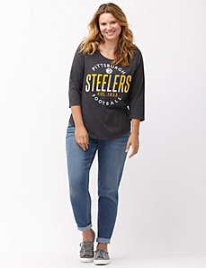 Pittsburgh Steelers 3/4 sleeve tee