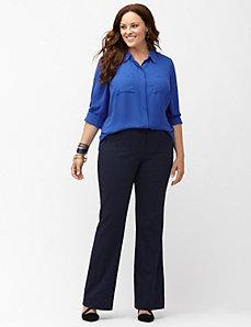 Lena Sexy Stretch pinstripe bootcut pant