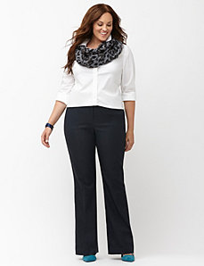 Lena Sexy Stretch refined denim bootcut pant