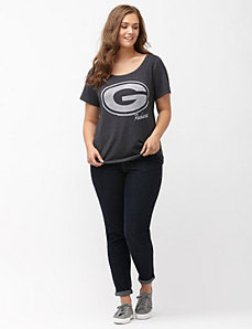 Green Bay Packers burnout logo tee