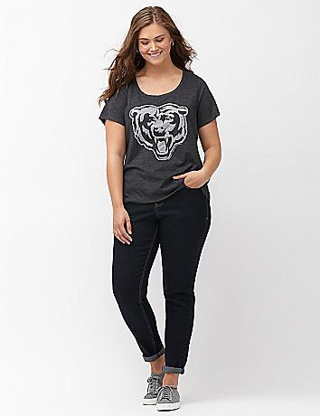 Plus size womans NFL team logo tee