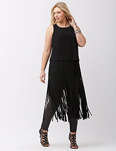 Fringe blouse by Mynt 1792