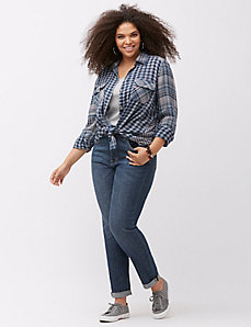 Straight leg jean by Melissa McCarthy by Seven7