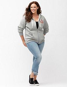 San Francisco 49ers zip front hoodie