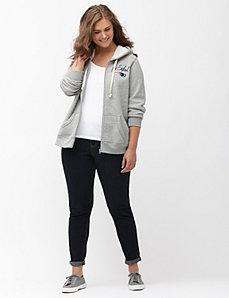 New England Patriots zip front hoodie