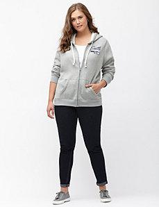 Seattle Seahawks zip front hoodie