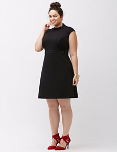 Cut-out bodycon dress by ABS Allen Schwartz