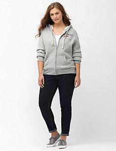 Denver Broncos zip front hoodie