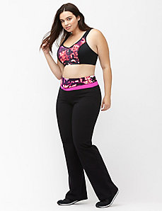 Signature Stretch printed waist yoga pant