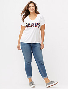 Chicago Bears sequin tee