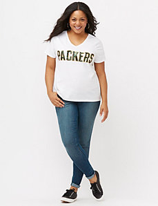 Green Bay Packers sequin tee