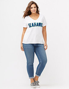 Seattle Seahawks sequin tee