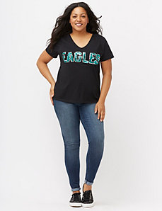 Philadelphia Eagles sequin tee