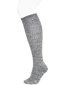 Super soft marled boot sock