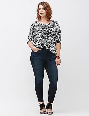 Plus size designer jean