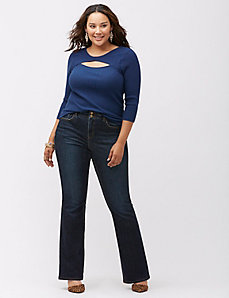 Bootcut jean with T3 Tighter Tummy Technology