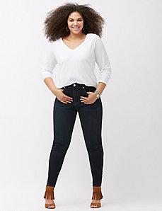 Sateen skinny jean by Melissa McCarthy Seven7