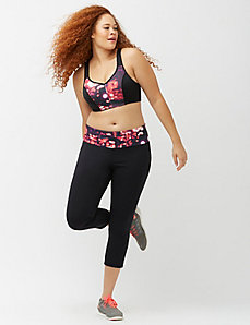 Cooling capri legging