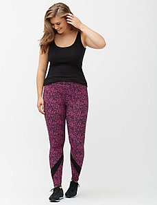 Signature Stretch legging with spliced inset