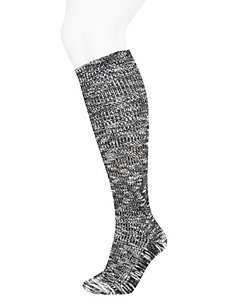 Slub Yarn Boot Sock
