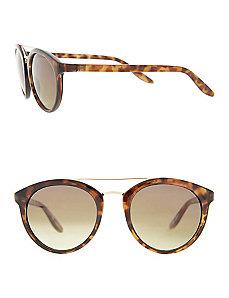 Tortoiseshell club sunglasses