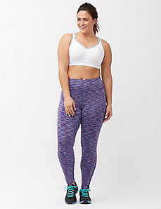 Wicking Antimicrobial space dye active legging
