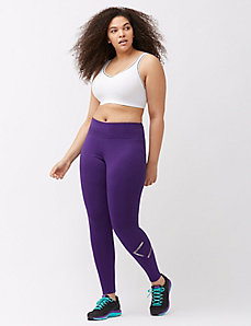 LIVI logo brushed back legging