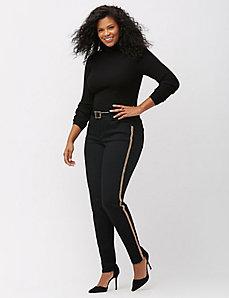 Embellished black skinny jean