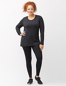 Warming active legging