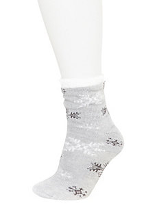 Snowflake Cozy Socks