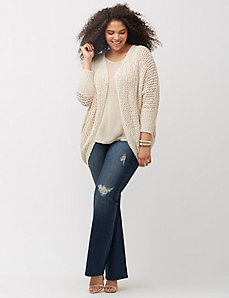 Open cocoon sweater by Melissa McCarthy Seven7