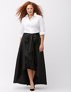 High-low ball skirt by Adrianna Papell