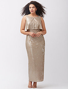 Vintage sequin gown by ABS Allen Schwartz