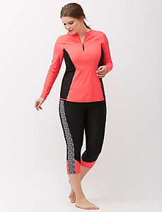 Sun Protection Swim Capri Legging