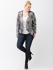 6th & Lane sequin jacket