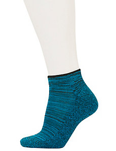 Melange stripe sport socks 3-pack