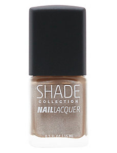 Metallic taupe nail lacquer