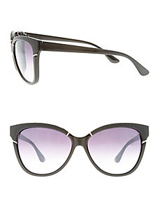 Textured rim sunglasses