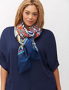 Boho print scarf