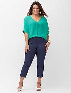 Ashley Slim Tailored Crop