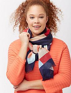 Yacht stripe scarf