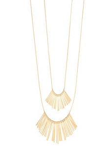 2-Layer Stick Necklace