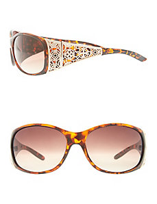 Filigree detail sunglasses