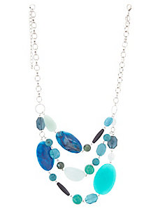 Turquoise Multi-Stone Necklace