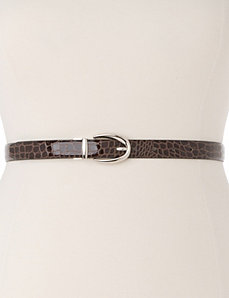 Classic reversible belt