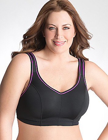 Convertible underwire sport bra by Cacique