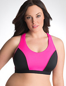 Sport by Cacique racer back sport bra