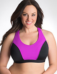 Plus Size Sports Bras for Large Breasts & Padded Styles | Lane Bryant